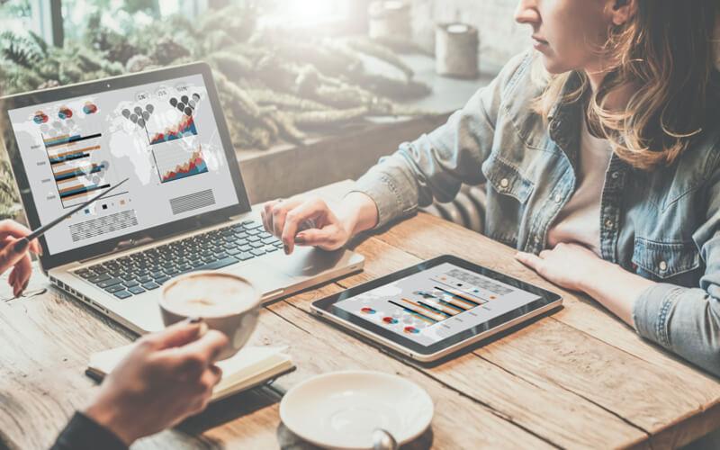 Online marketing data en statistieken bekijken